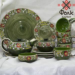 Чайный сервиз керамический
