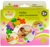 Набор мини ковриков для купания и игры малыша в ванной  тм KinderenOK, фото 1