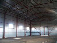 Строительство ангара,помещения 12*36*