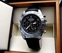 Стильные оригинальные часы мужские кварцевые Rolex. Отличное качество. Доступная цена. Дешево. Код: КГ2503