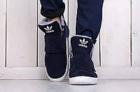 Мужские кроссовки adidas tubular invader с мехом