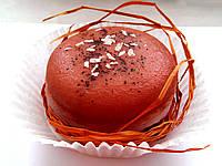 Кофейное органическое мыло Большой Macaron 90г