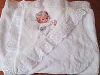 Одеяльце детское 100*100см. для крещения