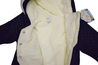 Комбинезон-человечек утепленный размер 62, фото 2