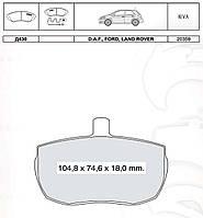 Колодки тормозные передние Dafmi D430
