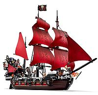 Конструктор LELE 39008 Корабль Месть Королевы Анны 1222 дет