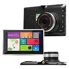 Навигатор GPS + регистратор 5в1 5d X5 DVR IPS 4 ядра+ 8gb+Wi-Fi+Bluetooth+AV+512ddr