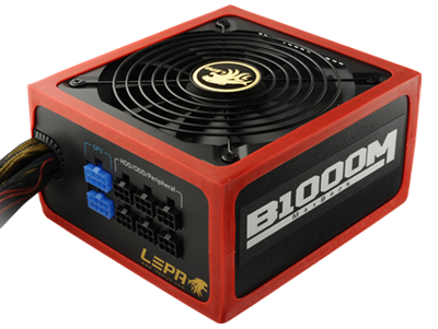 "Блок питания LEPA MaxBron B1000-MB 1000W ATX 80Plus Bronze ""Over-Stock"" Б/У"