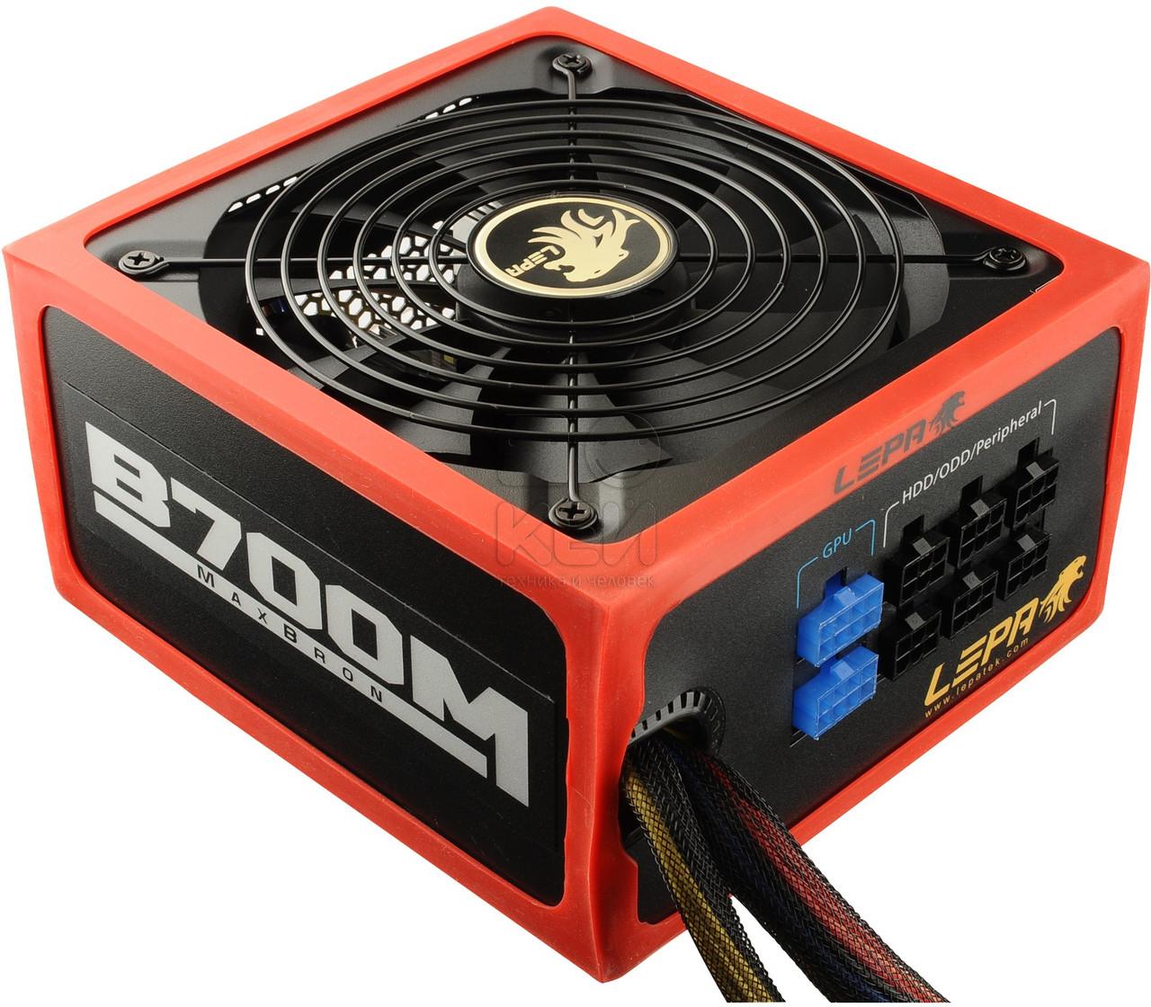 """Блок питания LEPA B700-MB 700W 80 Plus Bronze Б/У """"Over-Stock"""""""