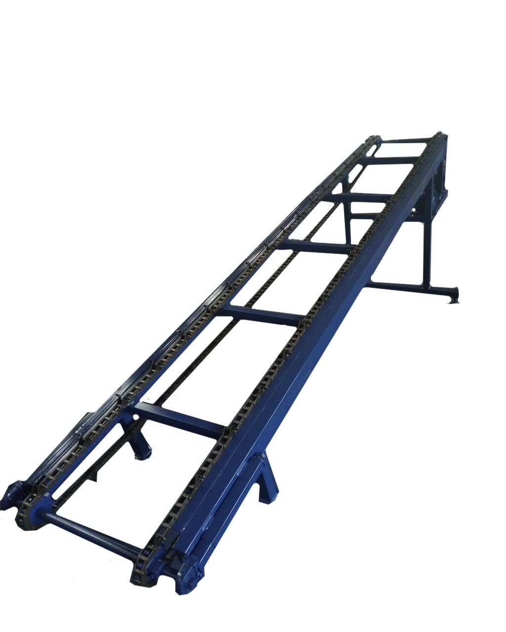 Цепной горизонтальный транспортер ленточный транспортер для сыпучих материалов своими руками