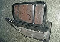 Зеркало правое Renault Master Opel Movano -03 БУ дефект верхнего стекла