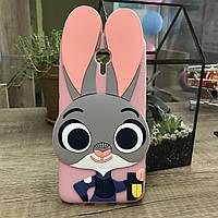Чехол Джуди Хопс для MEIZU M2 mini, Зверополис pink