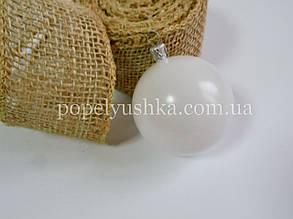 Кулька біла пластикова 6 см