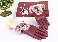 Женские перчатки Fur СС5001
