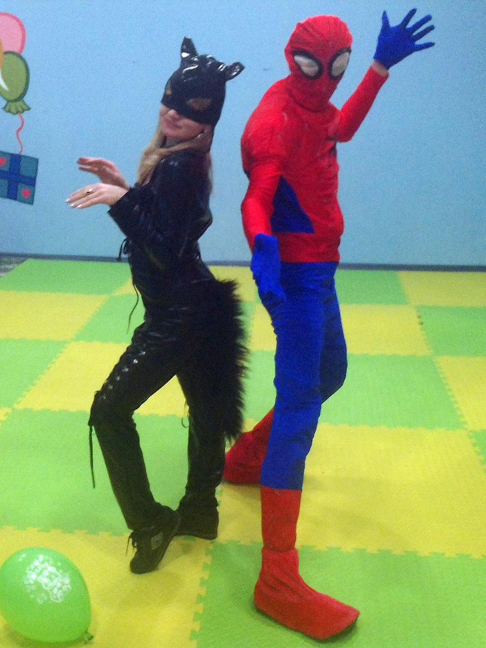 Человек Паук (Спайдермен) аниматор, организация Детских праздников Сумы