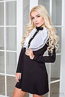 Молодежное коротенькое платье