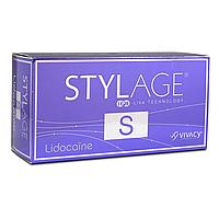Филлер с гиалуроновой кислотой StylAge S Lido с лидокаином . 2 х 0,8 мл