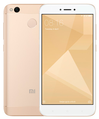 Смартфон Xiaomi Redmi 4x 4/64GB (Gold)