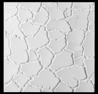 "Гипсовые 3d панели для стен ""Сахара"", 500х500"