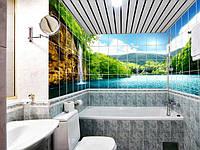 Панно Водопад ручей кафель на стены, плитка 20х30см.