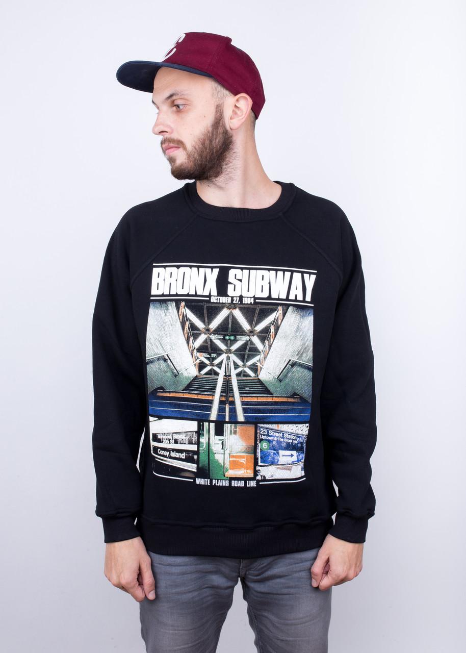 Свитшот теплый Liberty Bronx Subway Black, фото 1