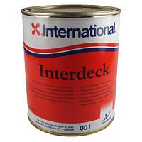 Яхтова фінішна Фарба для палуби Interdeck/750 ml