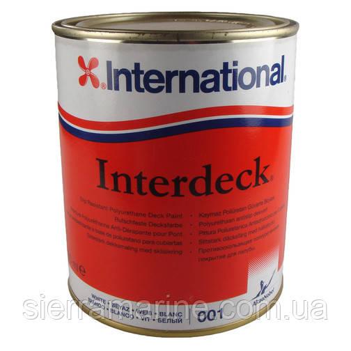 Яхтенная Краска финишная для палубы Interdeck/750 ml