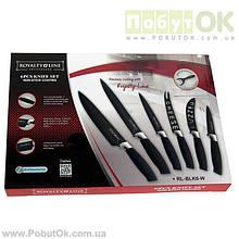 Набор Ножей 6 Едениц ROYALTY LINE RL-BLK6-W (Код:1100) Состояние: НОВОЕ