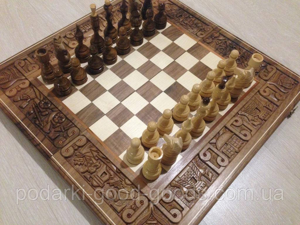 шахматы шашки бой за корону деревянные ручная работа цена 2 550 грн