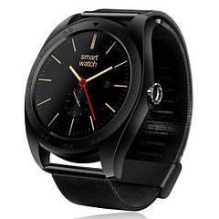 Смарт часы Makibes K89 HD IPS экран ( улучшенные K88 ) черные метал