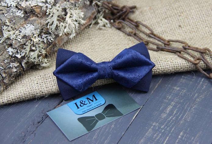 Галстук-бабочка I&M Craft с острыми концами (100106N), фото 2