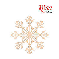 Заготівля Сніжинка-2 Rosa Talent 4шт фанера 10см 178