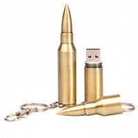 Флешка Пуля брелок - лучший подарок для настоящего мужчины! Usb flash drive 8 Gb