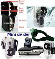 Микро видео камера, карманная видеокамера, миникамера с боксом ля подводной съемки