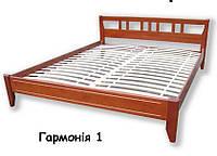 """Дерев'яне ліжко """"Гармонія-1"""""""