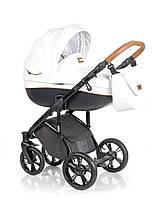 Детская универсальная  коляска  2 в 1  ROAN Bass Soft Eco Caramel White