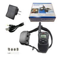 Акумуляторний електронний нашийник Axsel Fox PT-100R , електронний нашийник шокер для дресури, корекції собак