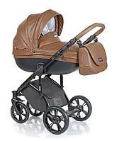 Детская универсальная  коляска  2 в 1  ROAN Bass Soft Eco Cognac