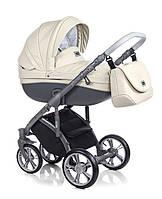Детская универсальная  коляска  2 в 1 ROAN Bass Soft Eco Cream Shake