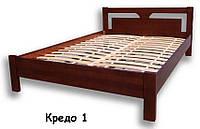 """Дерев'яне ліжко """"Кредо-1"""""""
