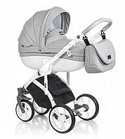 Детская универсальная  коляска  2 в 1  ROAN Bass Soft Eco Dove White