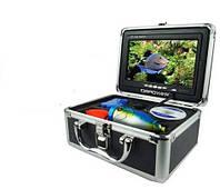 """Fish Finder Camera-камера для рыбалки с 7 """" монитором, светодиодной подсветкой в жестком защищенном кейсе"""
