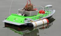 Радиоуправляемый кораблик для рыбалки EAL-200-2 Торнадо, прикормочный катер для завоза прикормки