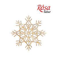 Заготовка Снежинка-4 Rosa Talent 4шт фанера 10см 192