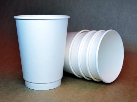 "Бумажный стакан 425 мл ""Белый"" двухслойный"