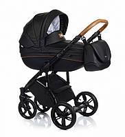 Детская универсальная  коляска  2 в 1  ROAN Bass Soft Eco Night Black