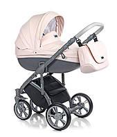 Детская универсальная  коляска  2 в 1 ROAN Bass Soft Eco Romantic Pink