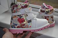 Детские зимние ботинки на девочку