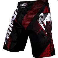 Шорты Venum Broek Short Rapid Black Red Vechtsport Kleding