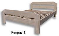 """Дерев'яне ліжко """"Каприз-2"""""""
